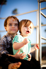 IMG_6189 (reneerounds) Tags: ocean family beach playground kids portraits sand swing lifeguardtower suiter
