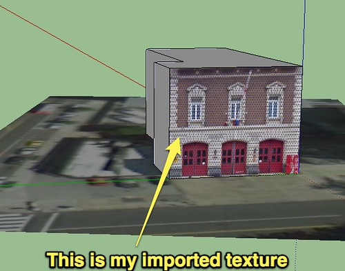 Imported Texture - SketchUp