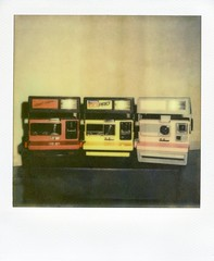 Polaroid 600 Cameras (Nick Leonard) Tags: vegas stilllife film analog polaroid sx70 three scans diptych lasvegas nevada nick cameras manualfocus landcamera polaroidsx70 coolcam polaroidlandcamera instantfilm jobpro epson4490 flashbar firstflush colorshade nickleonard polaroidsx70model2 theimpossibleproject theimpossibleprojectfilm px680 polaroid600cameras px680ff constructioncamera