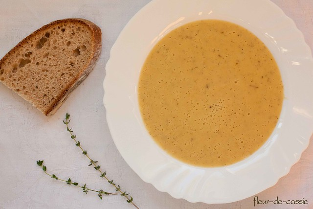 суп картофельно-луковый