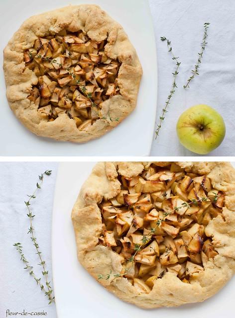 яблочная галета с тимьяном 3