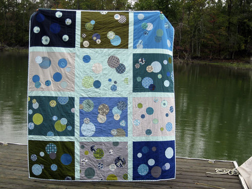 Bubble Quilt by do. Good Stitches