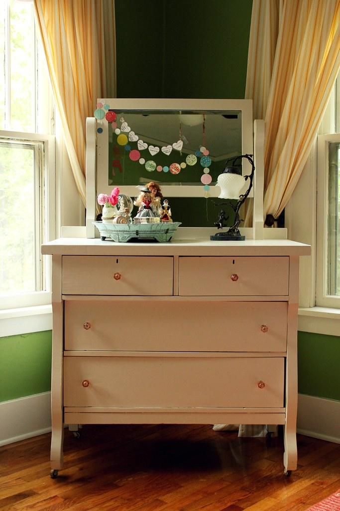 a girlie dresser