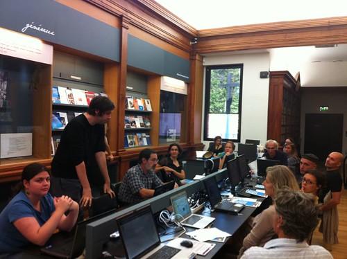 Rencontre-atelier Wikipedia au museum