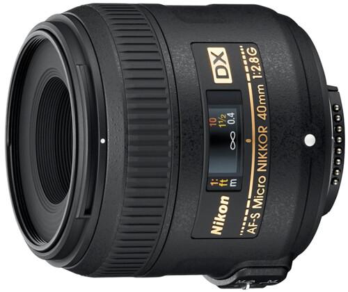 Nikon 40mm f/2.8G AF-S micro-NIKKOR
