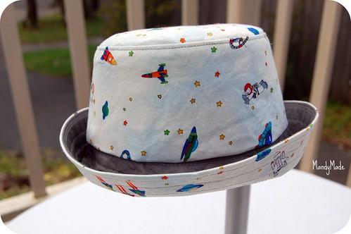 Baby's Hat - reversible #2