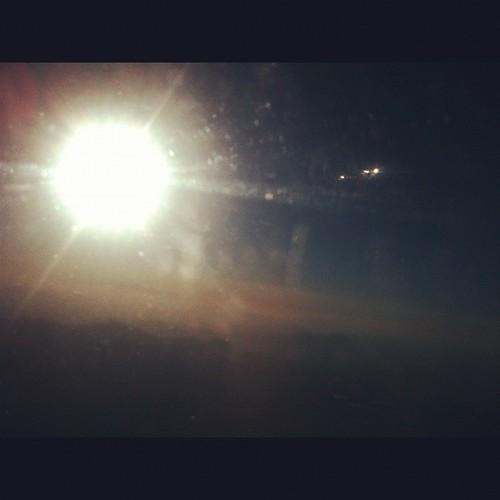 Can't see anything #sun #sunburn #sundown