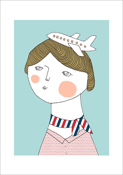 flight_attendant_A4 print