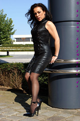 fd_f6260 (Lady Denise) Tags: fetish highheels latex denise leder stilettos lack stiefel korsett ladydenise