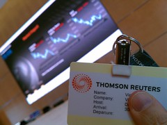 Meeting with Thomson Reuters in London