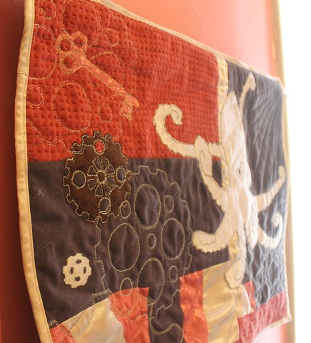 Steampunk Octopus Quilt Key Version