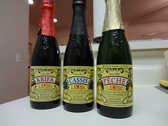 ベルギーのリンデマンス製ランビックビール3種類