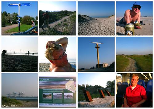 Hoek van Holland Strand by Marcel van Gunst