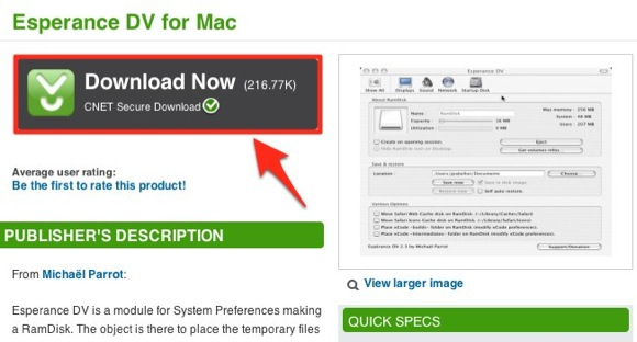 Esperance DV for Mac - Free software downloads and software reviews - CNET Download.com