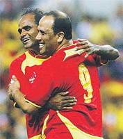 Dollah Salleh & P Maniam pemain veteran Selangor masih berbisa