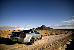 ShelbyToTheMoon (Lunchbox PhotoWorks) Tags: new ford mexico nikon albuquerque peak tokina abq shelby mustang d200 lunchbox nm cabezon 2009 1224 gt500 photoworks racingsouthwest truestreetcars