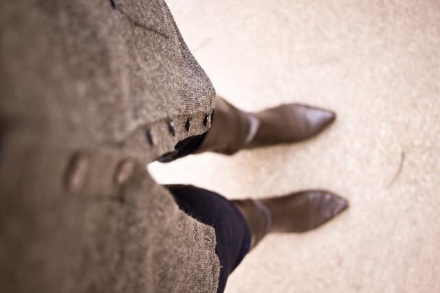 gray cardigan 3