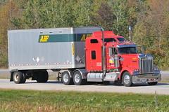 09262011-191 ©Ian A. McCord (ocrr4204) Tags: ontario canada truck nikon highway action camion vehicle pup mccord 401 abf tractortrailer bigrig highway401 morrisburg puptrailer ianmccord ianamccord