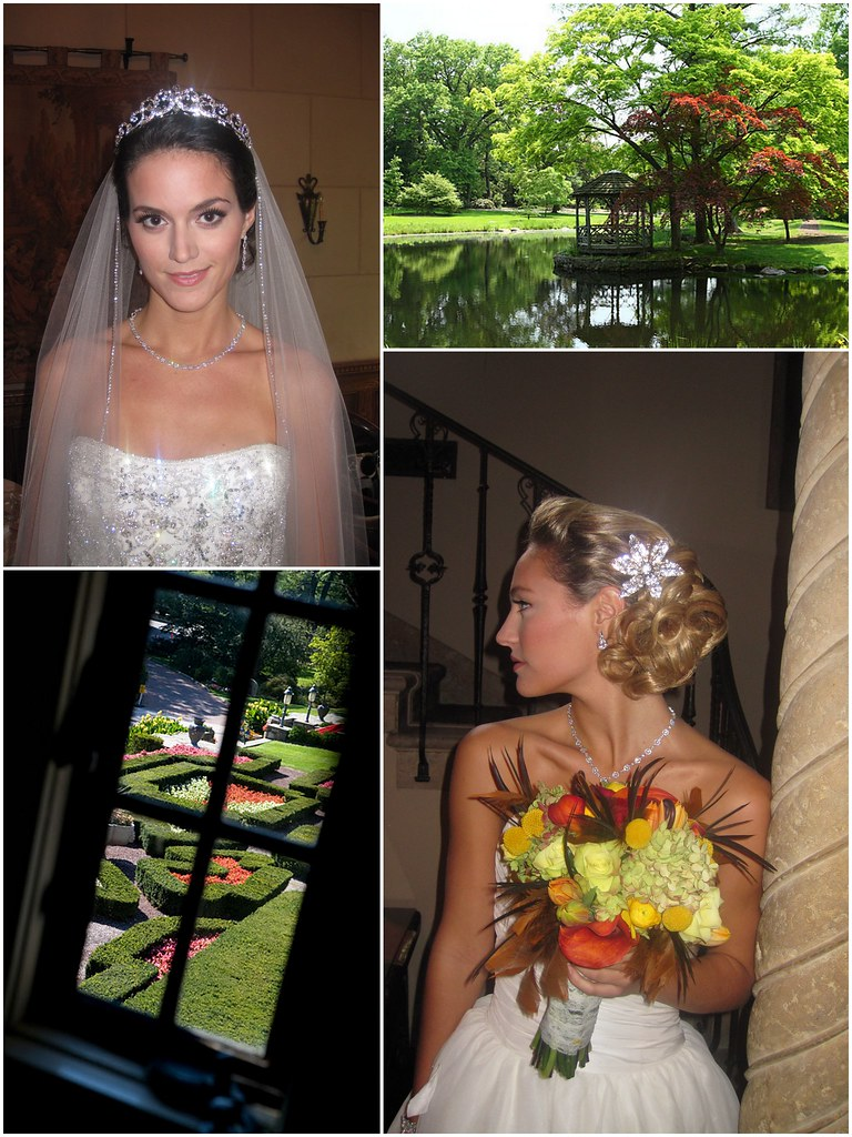 Contemporary Bride Magazine photo shoot at Pleasantdale Chateau