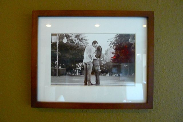 Framed Photo on Wall