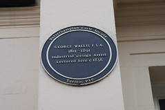 Photo of George Wallis blue plaque
