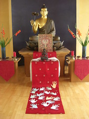 Essen Buddhist Centre shrine
