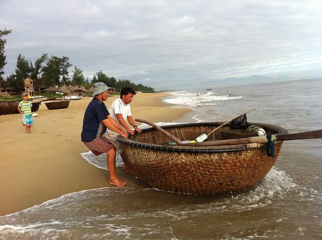 Fishing Baskets at China Beach