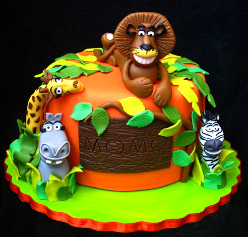 Madagascar cake for Momo