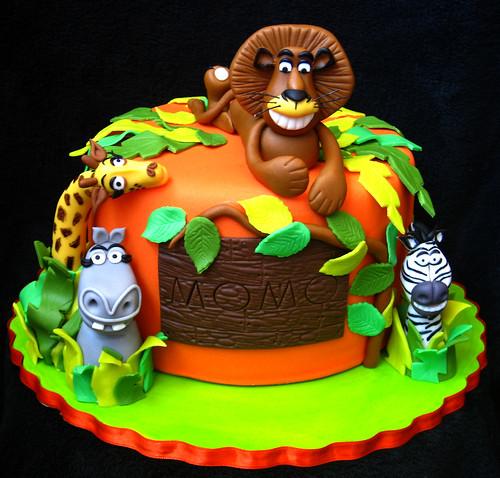 Madagascar cake for Momo