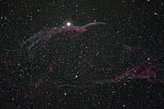 The Veil Nebula (gainesp2003) Tags: stars veil space nebula astrophotography astronomy dso ngc6960 witchsbroom pickeringstriangle supernovaremnant thewitchsbroom gainesp2003 patgaines