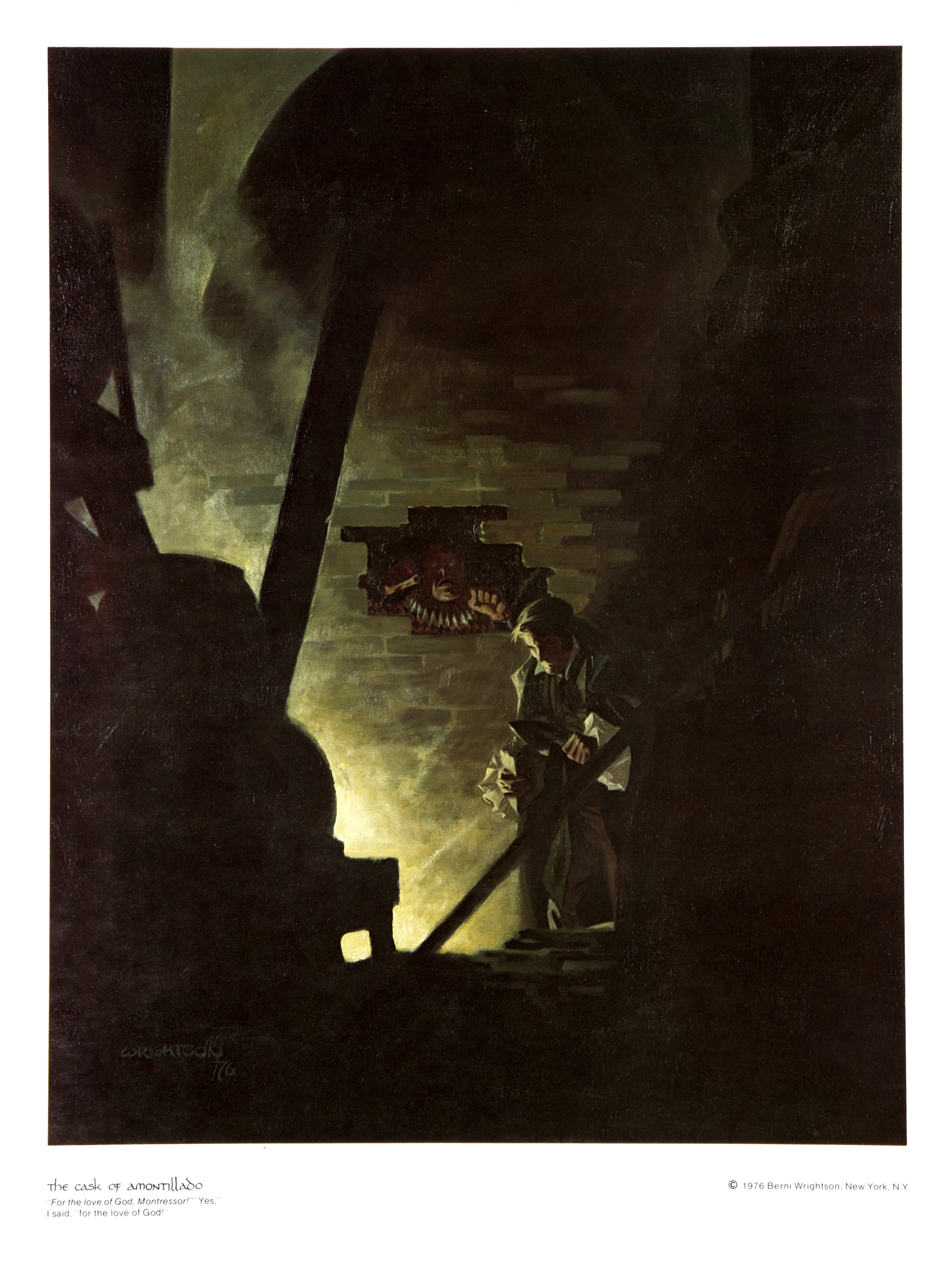 The motif of duplicity in the cask of amontillado a short story by edgar allan poe