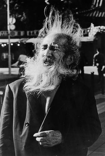 鬚髮飛揚–1990東京