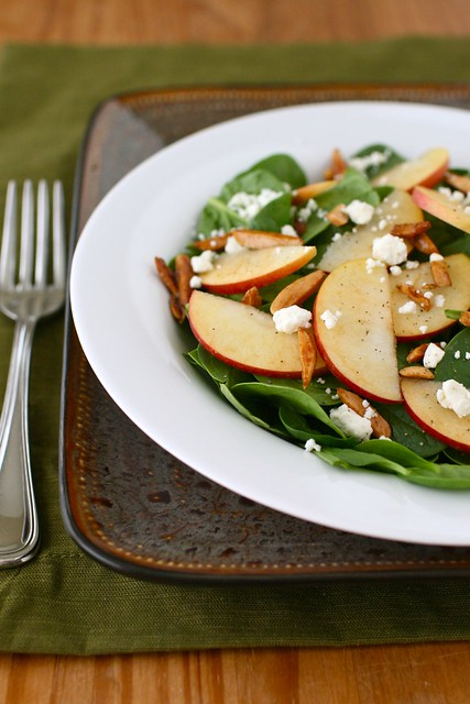 Harvest Apple and Spinach Salad