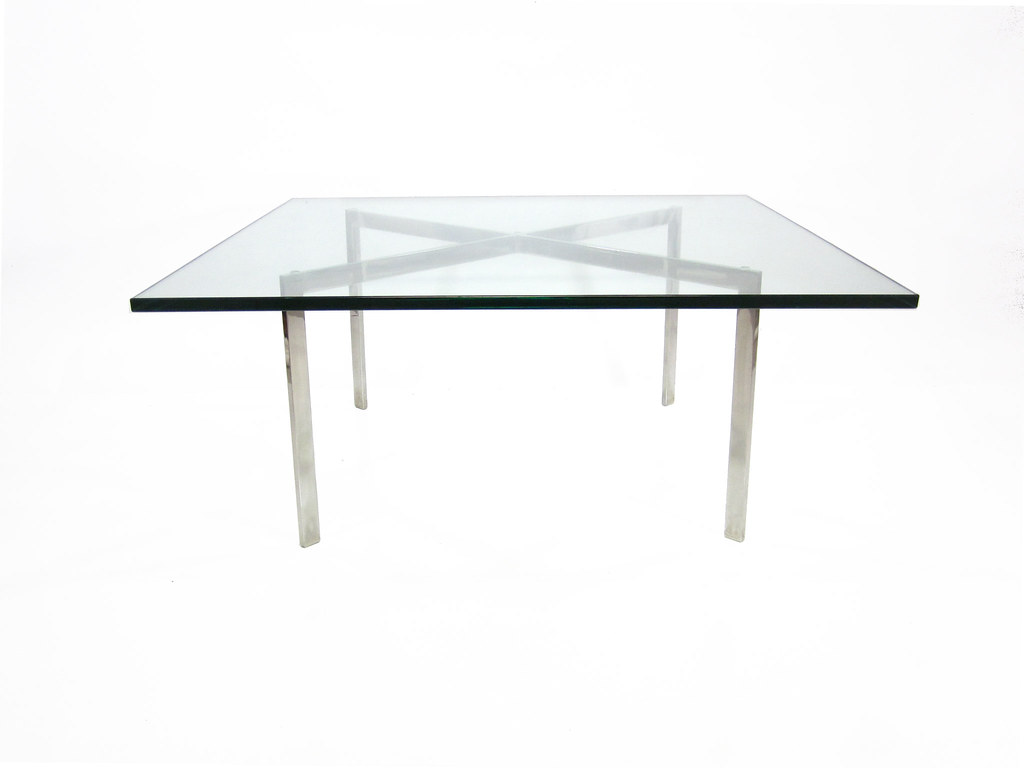Authentic Vintage Barcelona Coffee Table by Knoll