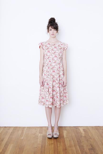Split Sleeve Drawstring Dress