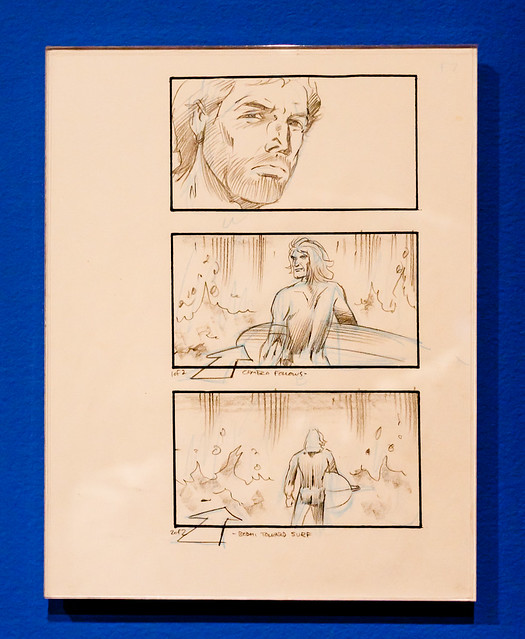 Storyboard for Point Break