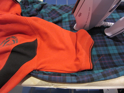 School uniform to be ironed
