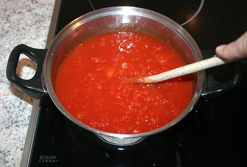 28 - Tomaten erhitzen