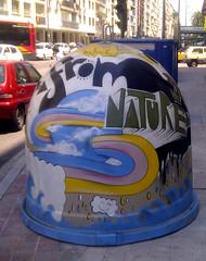 repblica argentina (isanefe) Tags: sevilla contenedores graffitis