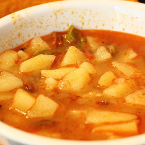Balu-Zsó féle paprikás krumpli