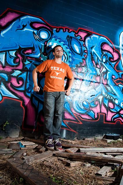 Graffiti: Self-Portrait