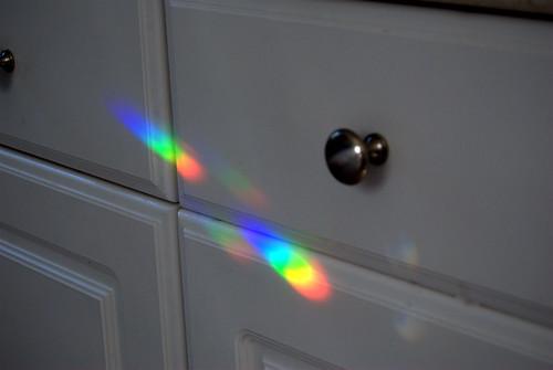 Rainbows in the kitchen