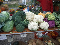 Veggies at Farmer's Market