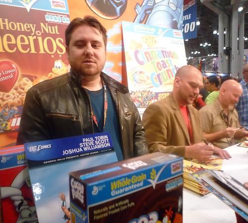 general mills and dc comics at comic con