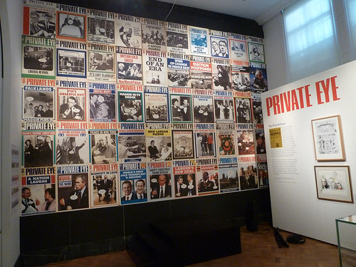 Private Eye covers V&A
