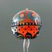 Charm bead : Colorful temari