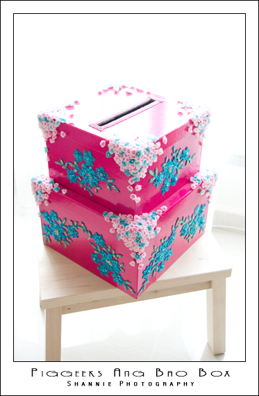 Wedding Ang Bao Box