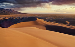 Great Sand Dunes NP - Colorado (Zach Boumeester) Tags: park sunset mountains de rockies sand nikon san colorado desert dunes great rocky tokina national valley luis af cristo f28 sangre mtns 1116mm d300s