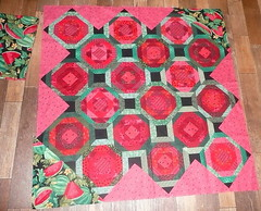 Jennifer2 (In Stitches Mini Group) Tags: pinwheel quilts placemats watermellon crochetrug patrioticquilts