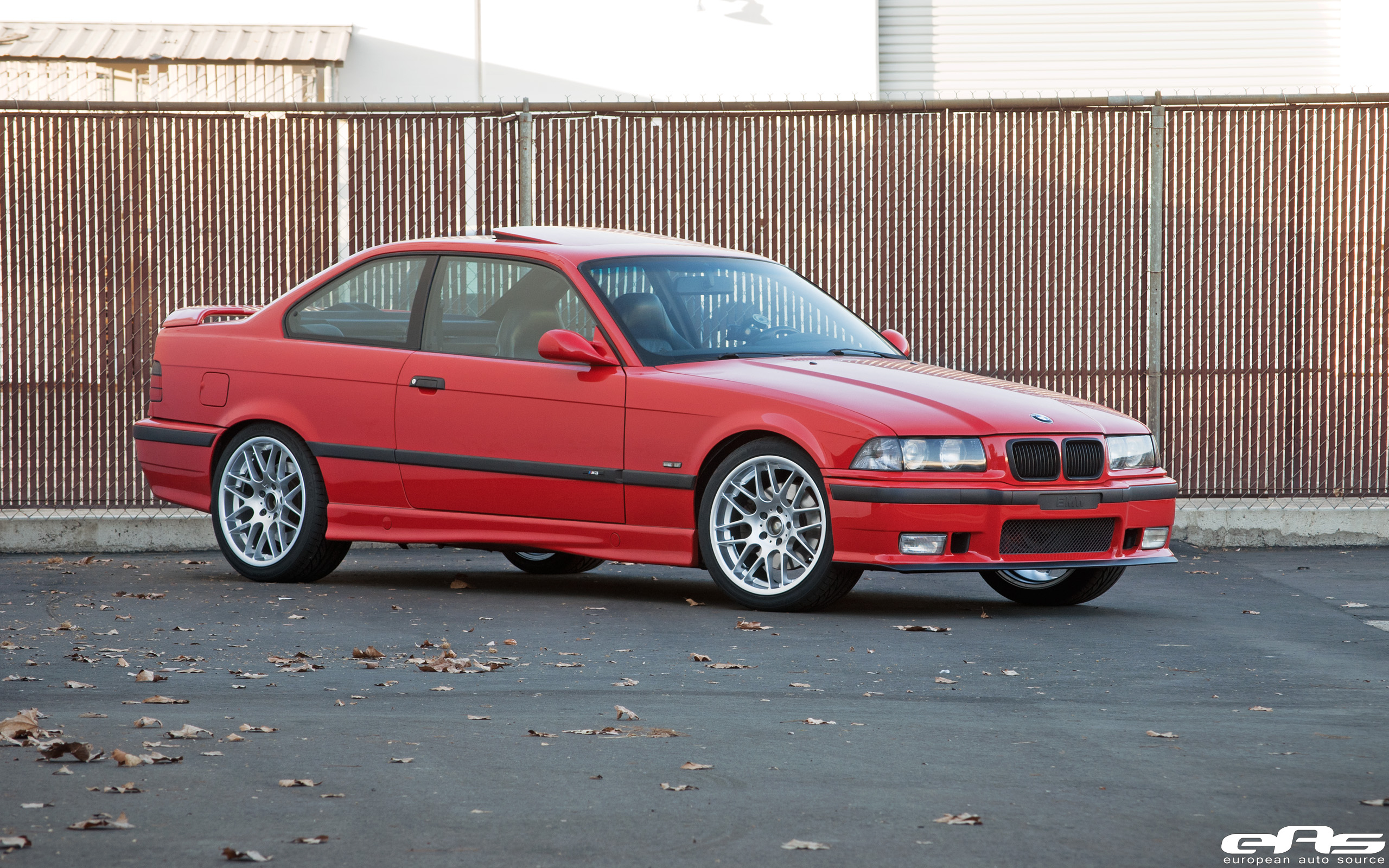 Helrot Red E36 M3 with VMR VB3s | BMW Performance Parts ...